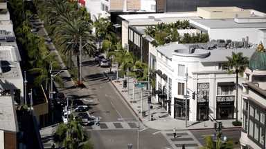 Ocean Drive, Lincoln Road, Hollywood Blvd, Rodeo Drive e Sunset Blvd