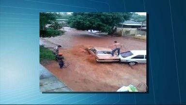 Chuva alaga vários pontos de Campo Grande - Veja imagens de telespectadores que mostram os estragos causados pela chuva nesta quinta-feira (18)