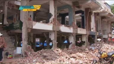 Shopping é demolido em Ciudad del Este - No local será construído uma área verde.