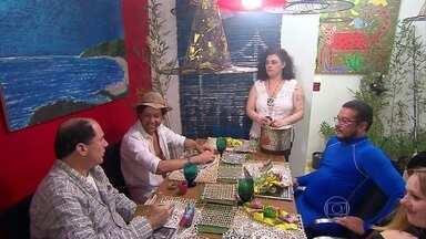 Ana Maria relembra o jantar da Ana Bez no Jogo de Panelas - Tema do jantar foi 'Magia Mané'