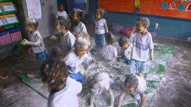 Projeto pedagógico de Salvador ganha prêmio da Universidade Federal do Ceará - O projeto da escola infantil que fica no bairro de Luis Anselmo desperta a imaginação das crianças estimulando os órgão dos sentidos.