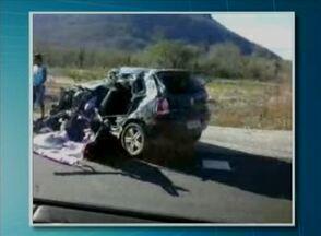 Colisão entre caminhão e carro mata um jovem em Pesqueira, no Agreste de Pernambuco - Testemunhas teriam dito que ele perdeu o controle do carro.