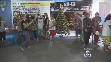 Associação promove feira de Natal na Zona Leste de Manaus - Diversos produtos são ofertados aos visitantes.