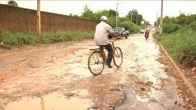 O período chuvoso está piorando as condições das ruas de Balsas, no sul do Estado - O período chuvoso está piorando as condições das ruas de Balsas, no sul do Estado.