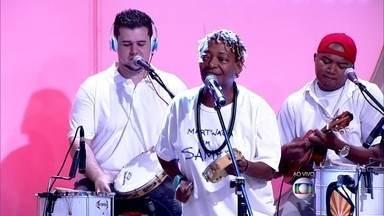Mat´nália abre o Encontro 'Casa de Bamba' - Cantora interpreta música do pai, o sambista Martinho da Vila