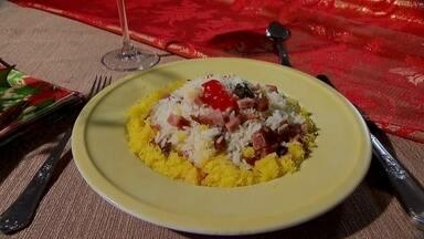 Cheff de cozinha dá dicas para o almoço do natal - Segundo o cheff de cozinha sempre dá para caprichar um pouco mais no almoço do dia 25 com o que sobrou na ceia do dia anterior.