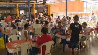 Em Manaus, famílias se reúnem para tomar café na manhã de Natal - Tapioca com tucumã estava entre os alimentos mais pedidos pelos manauenses.