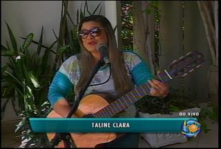 Clima de sábado com música no GRTV - Ao som da cantora Taline Clara ao vivo