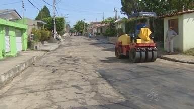 Rua será interditada por 90 dias para obra no bairro Hileia, em Manaus - Obra iniciou nesta sexta-feira; ação deve durar cerca de três meses.Equipes devem trabalhar 24h por dia até conclusão da obra.