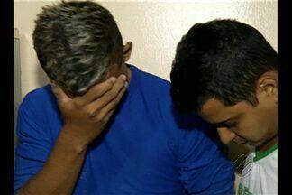 A polícia prendeu dois homens que assaltaram uma escola de idiomas em Belém - De acordo com a polícia, um deles era funcionário e teria planejado o assalto.