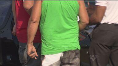 Empresa é alvo de criminosos pela segunda vez em Santos - Suspeitos feriram um funcionário e não conseguiram levar nada.