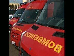 Corpo de Bombeiros e Guarda Municipal recebem novas viaturas - A GM recebeu quatro motos, quatro carros e dois ônibus. Já aos bombeiros foram entregues três ambulâncias e três viaturas.