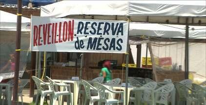 Prefeitura de Cabedelo terá tendas para quem quiser passar o Réveillon na praia - Cada espaço para instalação de tenda cusa pouco mais de R$ 120,00.