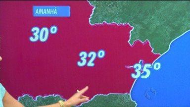Confira a previsão do tempo para a noite da virada - Com chuvas o dia todo, a noite promete calor e tempo fresco.