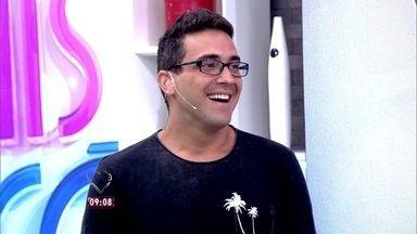André Marques conta que ganhou a 'quina' da Mega da Virada - Sortudo, o apresentador levou para casa parte da grana do prêmio