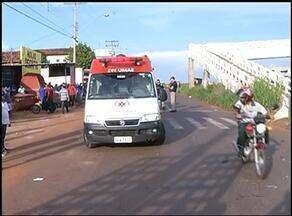 Idosa de 67 anos é atropelada em faixa de pedestre em Araguaína - Idosa de 67 anos é atropelada em faixa de pedestre em Araguaína
