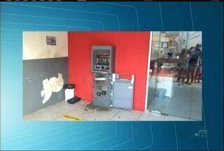 Caixa eletrônico é explodido no município de Jardim - Homens danificaram o equipamento, mas não levaram o dinheiro.
