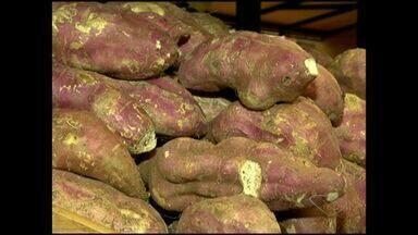 Nutricionista do ES fala sobre os benefícios da batata doce - Especialista da dicas sobre o consumo e propriedades do alimento.