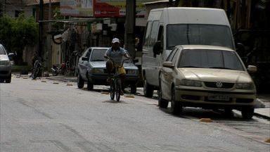 Bom Jardim e Granja Portugal recebem ciclofaixas - Acabamento e sinalização ainda não foram concluídos.