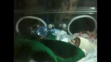 Médicos fazem ventilação manual para salvar bebê em hospital sem luz - Energia de hospital em Osasco acabou na segunda-feira (5). Em seguida o gerador foi ligado, mas depois de cinco horas de uso parou.