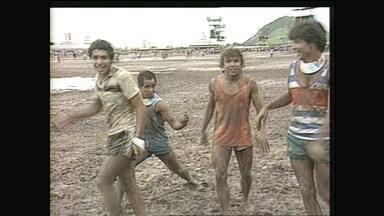 Fantástico encontra o público flagrado no primeiro Rock In Rio - Muita gente se reconheceu nas imagens mostradas no desafio. Fantástico mostra como estão suas vidas trinta anos depois do festival.