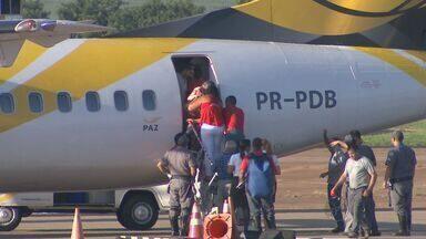 Mulher passa mal e avião faz pouso de emergência em Ribeirão Preto - Voo tinha saído de Vitória da Conquista em direção a São Paulo.
