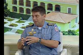 Veja a entrevista com o Coronel Roberto Campos, novo comandante da PM - Veja a entrevista com o Coronel Roberto Campos, novo comandante da PM