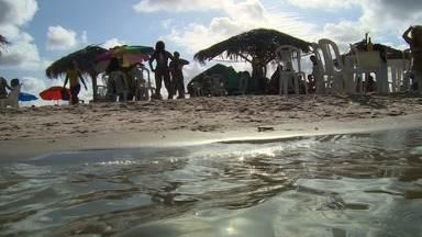 Crôa do Goré encanta turistas e gera emprego e renda para sergipanos - Crôa do Goré encanta turistas e gera emprego e renda para sergipanos.