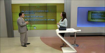 Alô, Concurseiros! veja quais as opções para os estudantes que fizeram o Enem - Rodrigo Andrade mostra como a nota da prova pode ser usada para ingresso nas universidades públicas e programas do Governo.