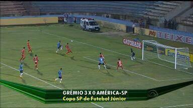 Grêmio se classifica, mas Inter é eliminado da Copa São Paulo - Veja os gols dos jogos da dupla no final de semana.