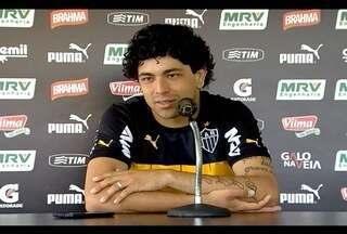 Esporte: Atacante do Atlético-MG Luan promete superar problemas físicos - Há dois anos, o atacante nunca conseguiu fazer uma pré-temporada devido aos problemas físicos.
