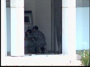 Tentativa de explosão é registrada em Lucélia - Grupo especializado desarmou explosivos.