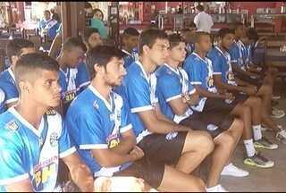 Com novo técnico, Montes Claros FC apresenta atletas para disputa do Móduro II do Mineiro - Cinco novos jogadores chegaram ao clube.