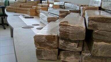 Casal é preso com 100 quilos de drogas - Eles foram presos no Ceará nesta segunda.