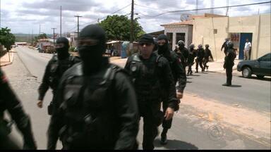 JPB2JP: Operação de segurança é realizada em presídio de Sapé - Até uma furadeira foi encontrada.
