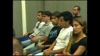 Aprovados em concurso da Brigada Militar participam de audiência - Eles pedem por intervenção na medida que suspendeu novas contratações no RS.