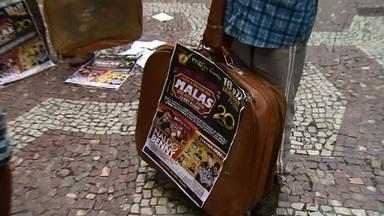 Moradores de Rio Novo elegem o 'Mala do Ano' - No total, 324 candidatos se inscreveram para disputar o título.