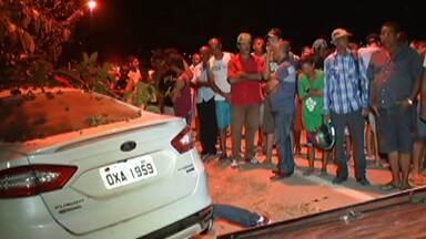 Seis pessoas morrem atropeladas em Belo Oriente, no Leste de Minas - Elas estavam em frente a uma casa, quando foram atingidas. Motorista fugiu sem prestar socorro.