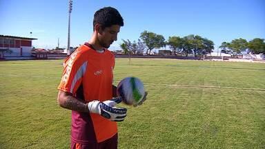 Conheça o novo goleiro do Sergipe, Marcelo Carné - Jogador se apresentou na última sexta-feira e pode jogar neste sábado