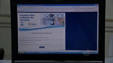 Inmetro faz pesquisa sobre acidentes de consumo - O Inmetro está fazendo uma pesquisa na internet sobre acidentes de consumo.