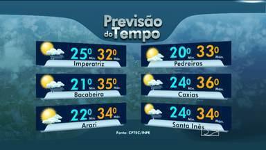 Veja a previsão do tempo - Previsão para sábado - 17-01-2015
