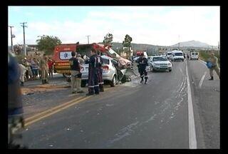 Norte-mineira morre em acidente de carro na cidade de São Caetano em Pernambuco - O marido dela também morreu no acidente.