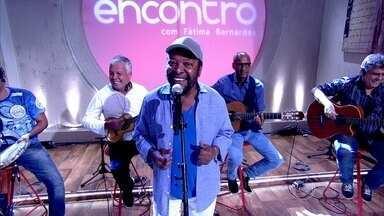 Martinho da Vila canta 'Devagar, Devagarinho' - Cantor abre o 'Encontro'