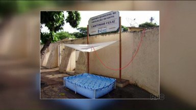 Homem furta água de creche em Andirá para encher piscina. - Homem de 33 anos foi preso; Ele furtou quase 1.000 litros de água.