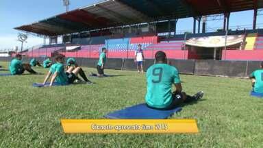 Cianorte renova o time e foca na volta para a primeira divisão do Paranaense - Nesse ano, o Leão do Vale vai disputar a segunda divisão do Campeonato Estadual. O time se apresentou hoje.