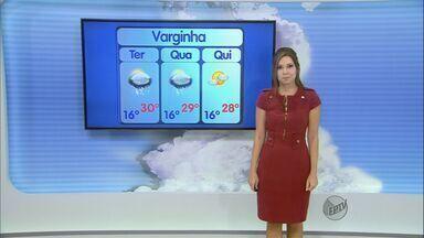 Confira a previsão do tempo no Sul de Minas para esta terça-feira (20) - Confira a previsão do tempo no Sul de Minas para esta terça-feira (20)