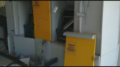 Criminosos explodem caixas eletrônicos em Alpinópolis e Bom Sucesso - Criminosos explodem caixas eletrônicos em Alpinópolis e Bom Sucesso