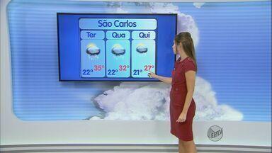 Confira a previsão do tempo para toda a região - Confira a previsão do tempo para toda a região