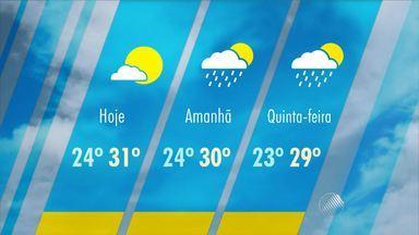 Confira a previsão do tempo para esta terça-feira (20) - Em Salvador, choveu em alguns regiões no período da manhã. A tarde será de sol e não deve chover.