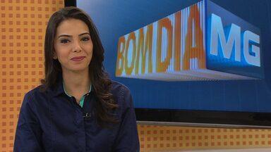 Veja os destaques do Bom Dia Minas desta quarta-feira - Jornal vai ao ar às 6h.